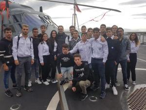 Visita fregata Rizzo - Classe IVA  CMN (3)
